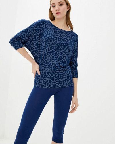Пижамная синяя пижама Promin
