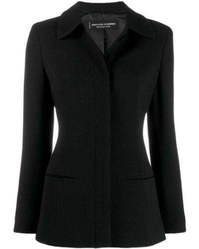 Черная куртка Jean Louis Scherrer Pre-owned
