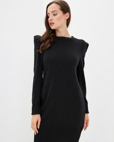 Вязаное черное платье Rinascimento