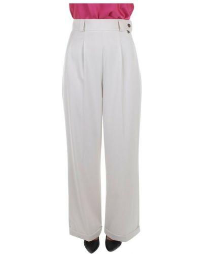 Białe spodnie palazzo Dixie