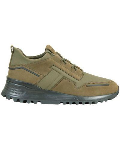 Zielone sneakersy Tod's
