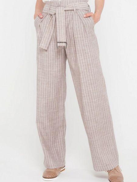 Повседневные бежевые брюки Gregory