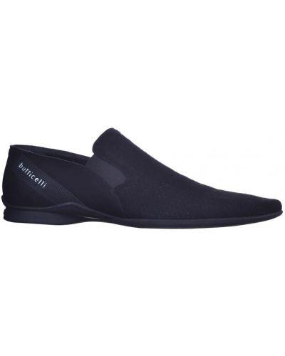 Туфли с перфорацией замшевые черные Roberto Botticelli