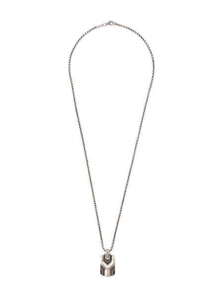 Ожерелье из серебра черный John Hardy
