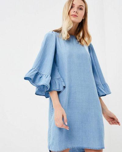 Платье с длинными рукавами весеннее Only