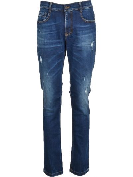 Niebieskie mom jeans Bikkembergs