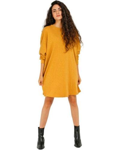 Sukienka vintage - pomarańczowa American Vintage