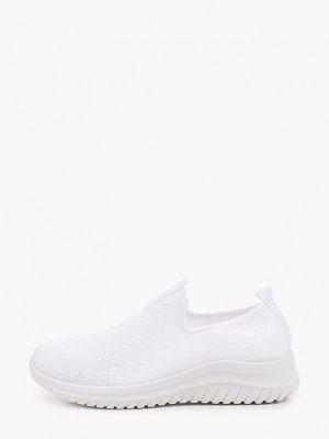 Текстильные белые кроссовки Go-go