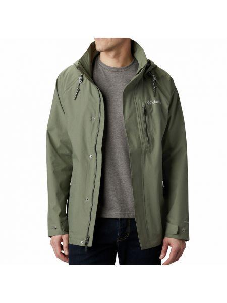 Зеленая куртка Columbia