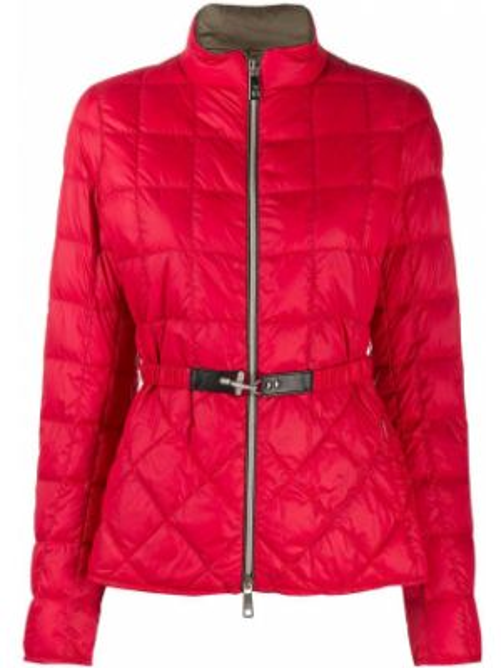Длинная куртка стеганая с карманами Fay