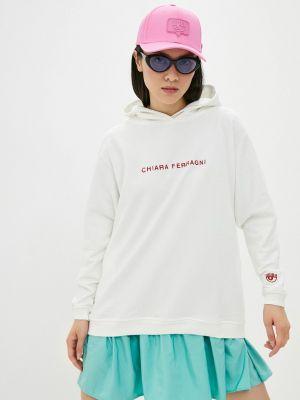 Белая итальянская кофта Chiara Ferragni Collection