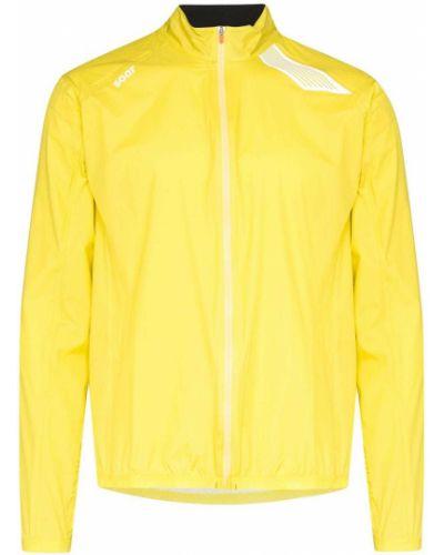 Желтая спортивная куртка свободного кроя на молнии с карманами Soar