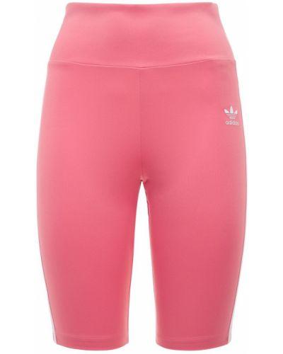 Rajstopy - różowe Adidas Originals