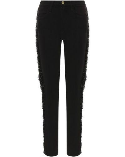 Облегающие джинсы - черные Frame Denim