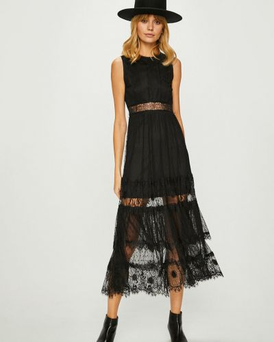 Платье миди прозрачное на молнии Answear