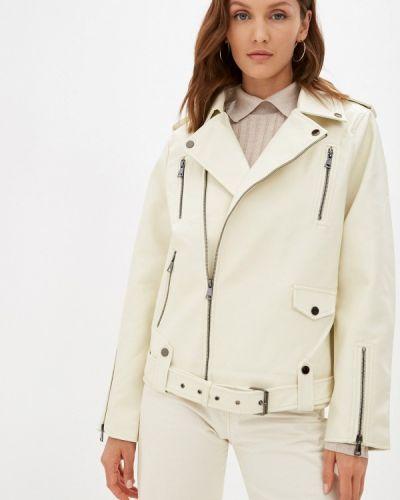 Бежевая демисезонная куртка Incity