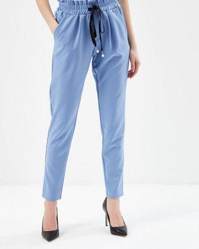 Голубые зауженные брюки Rinascimento