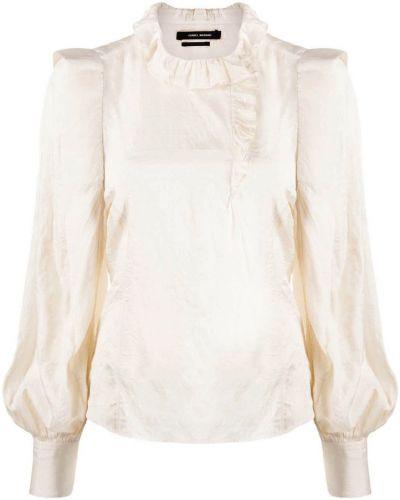 Beżowa koszula Isabel Marant