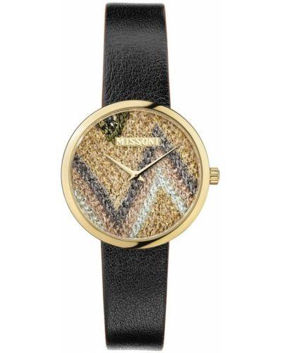 Żółty zegarek Missoni
