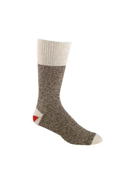 Классические вязаные коричневые нейлоновые носки Foxriver
