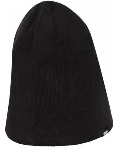 Вязаная шапка бини - черная Puma
