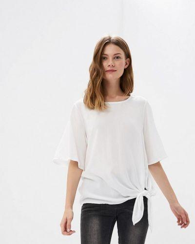 Белая блузка с коротким рукавом Broadway