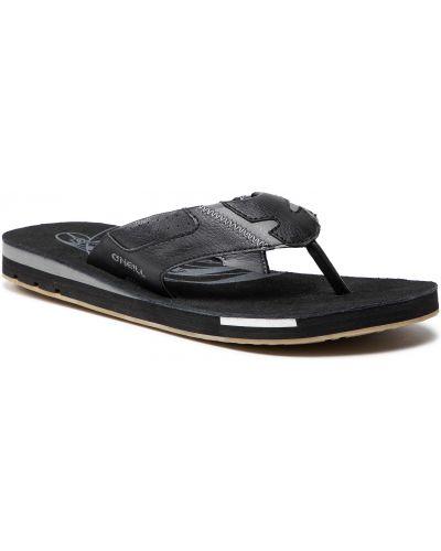 Sandały skórzane - czarne O'neill