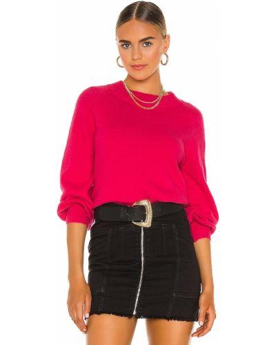 Городской розовый кашемировый свитер Central Park West