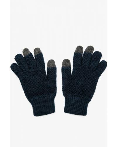 Niebieskie rękawiczki Koton