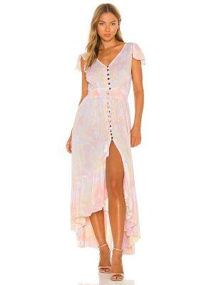 Платье макси - желтое Tiare Hawaii