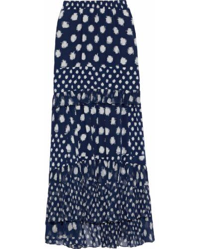 Облегченная шелковая юбка макси Diane Von Furstenberg
