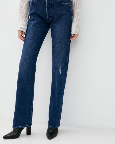 Прямые синие джинсы Rifle