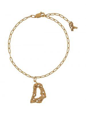 Złota bransoletka ze złota pozłacana Loveness Lee