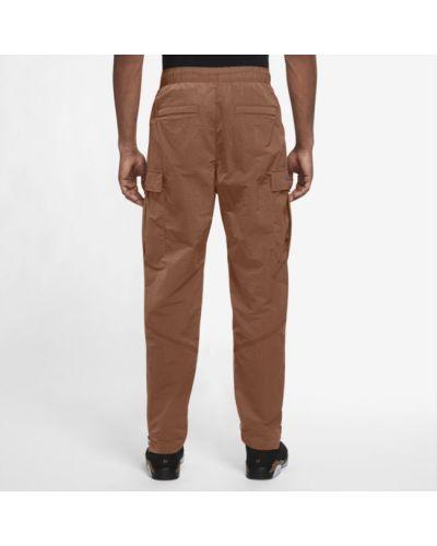 Brązowe spodnie materiałowe Jordan