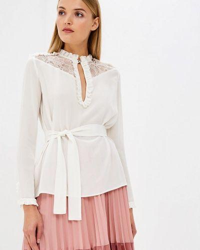 Белая блузка с длинным рукавом Pinko