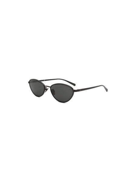 Солнцезащитные очки металлические матовые Chanel