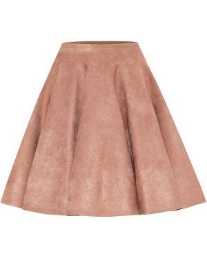 Плиссированная юбка мини Alaïa