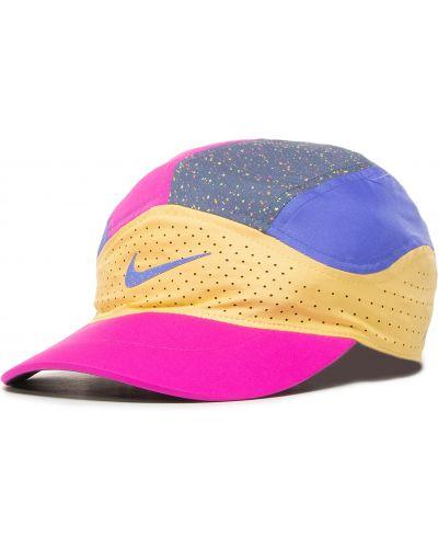 Różowy czapka Nike