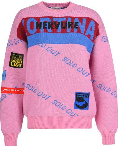 Розовый свитер Nervure