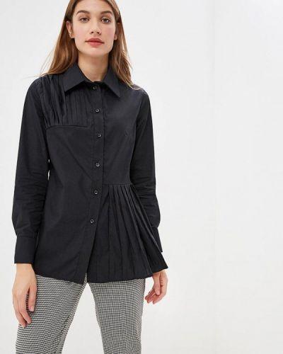 Блузка с длинным рукавом черная Lavlan