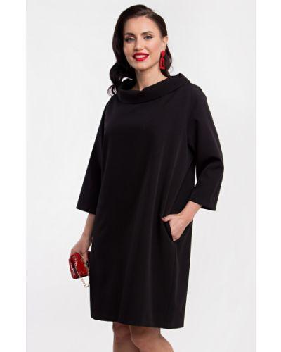С рукавами черное платье бохо Lady Taiga
