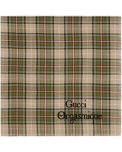 Beżowy szalik wełniany Gucci