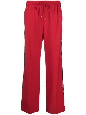 Спортивные брюки из полиэстера - красные Tommy Hilfiger