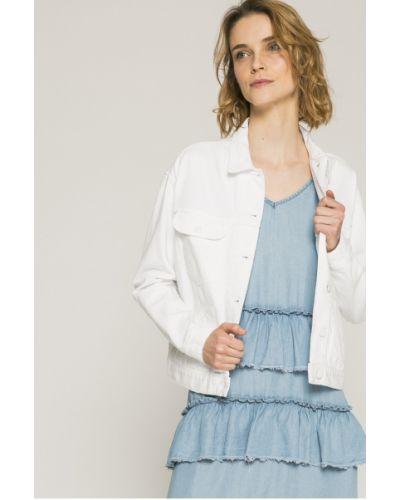 Джинсовая куртка в полоску облегченная Wrangler