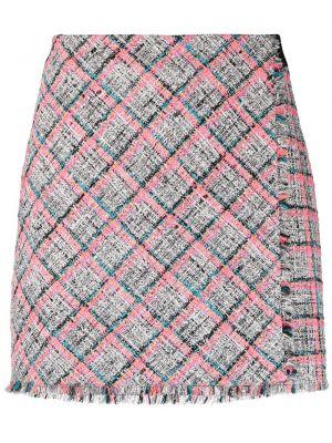 Różowa spódnica bawełniana Karl Lagerfeld