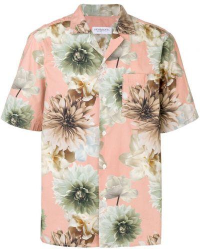 Рубашка с короткими рукавами с принтом розовый President's