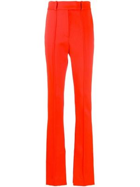 Свободные брюки с карманами свободного кроя на пуговицах с высокой посадкой Ssheena
