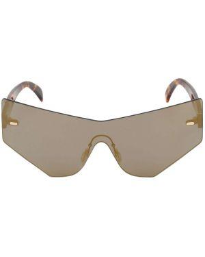 Brązowe okulary z nylonu Fkshm