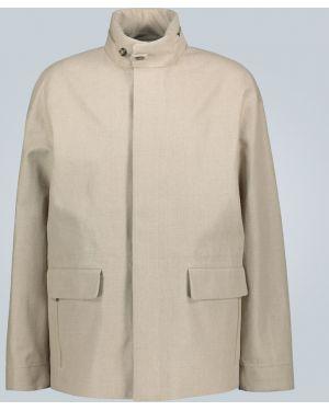 Куртка с капюшоном легкая льняная Loro Piana