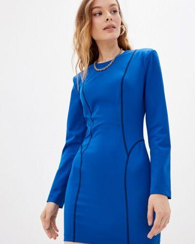 Платье футляр - синее Silvian Heach